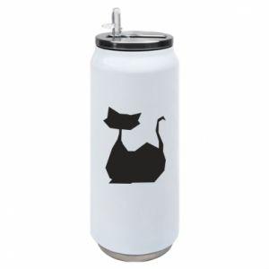 Puszka termiczna Cat lies graphics