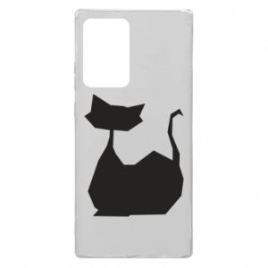 Etui na Samsung Note 20 Ultra Cat lies graphics