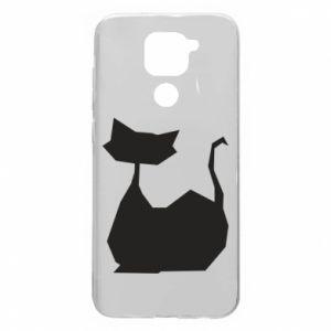 Etui na Xiaomi Redmi Note 9/Redmi 10X Cat lies graphics