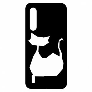 Etui na Xiaomi Mi9 Lite Cat lies graphics