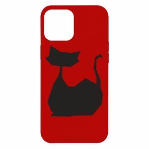 Etui na iPhone 12 Pro Max Cat lies graphics