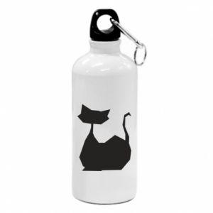 Bidon turystyczny Cat lies graphics