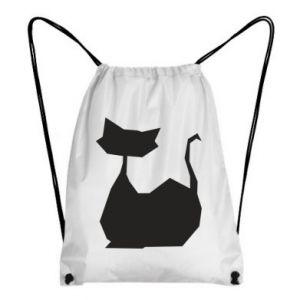 Plecak-worek Cat lies graphics