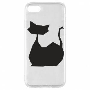 Etui na iPhone 7 Cat lies graphics