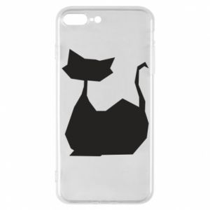 Etui do iPhone 7 Plus Cat lies graphics