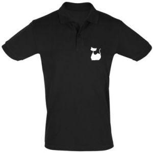 Koszulka Polo Cat lies graphics