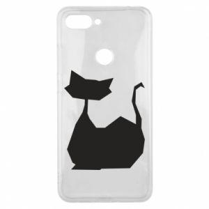 Etui na Xiaomi Mi8 Lite Cat lies graphics