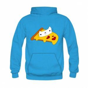 Bluza z kapturem dziecięca Cat - Pizza