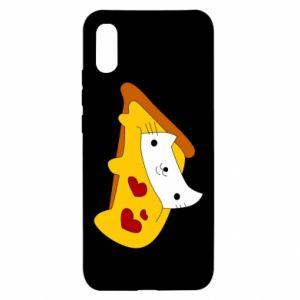 Etui na Xiaomi Redmi 9a Cat - Pizza
