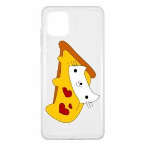 Etui na Samsung Note 10 Lite Cat - Pizza