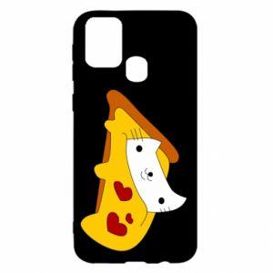 Etui na Samsung M31 Cat - Pizza