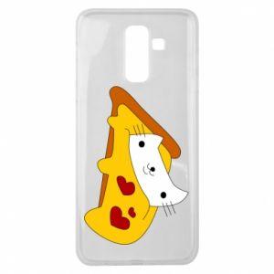 Etui na Samsung J8 2018 Cat - Pizza
