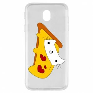 Etui na Samsung J7 2017 Cat - Pizza
