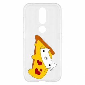 Etui na Nokia 4.2 Cat - Pizza