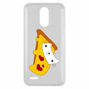 Etui na Lg K10 2017 Cat - Pizza