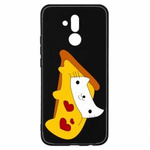 Etui na Huawei Mate 20 Lite Cat - Pizza