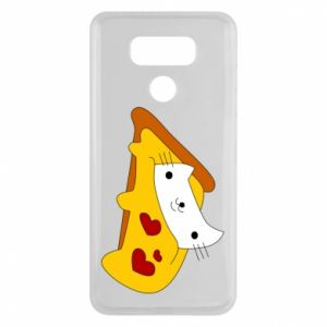 Etui na LG G6 Cat - Pizza