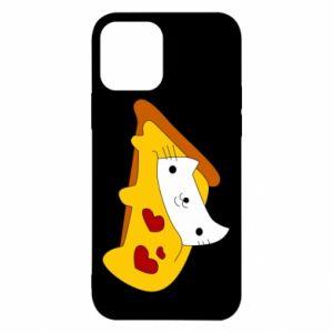 Etui na iPhone 12/12 Pro Cat - Pizza