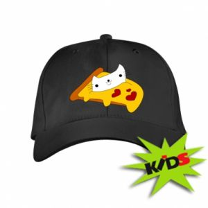 Kids' cap Cat - Pizza