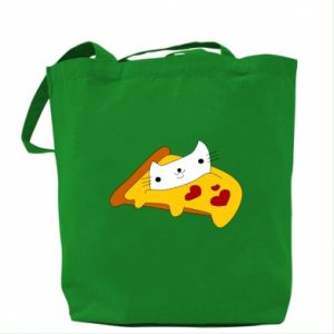 Bag Cat - Pizza