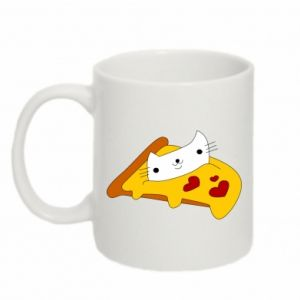 Mug 330ml Cat - Pizza