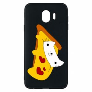 Phone case for Samsung J4 Cat - Pizza