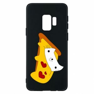 Phone case for Samsung S9 Cat - Pizza