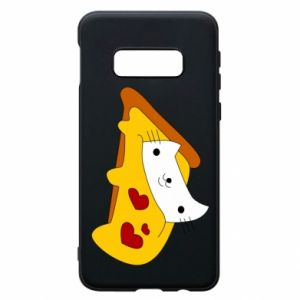Phone case for Samsung S10e Cat - Pizza