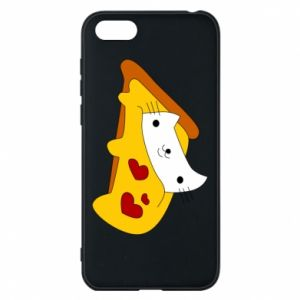 Phone case for Huawei Y5 2018 Cat - Pizza