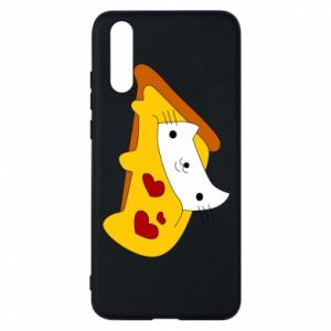 Phone case for Huawei P20 Cat - Pizza
