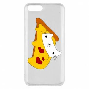 Phone case for Xiaomi Mi6 Cat - Pizza