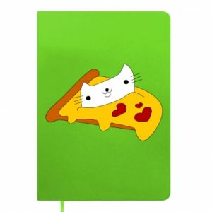 Notepad Cat - Pizza