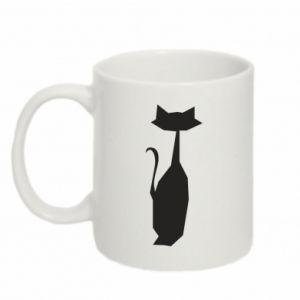 Mug 330ml Cat sitting graphics