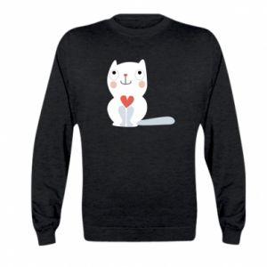Bluza dziecięca Cat with a big heart