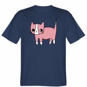 T-shirt Cat with leaves