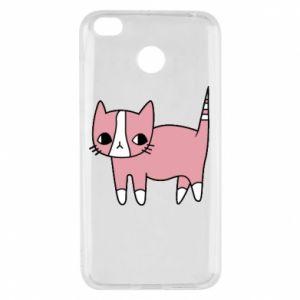 Etui na Xiaomi Redmi 4X Cat with leaves