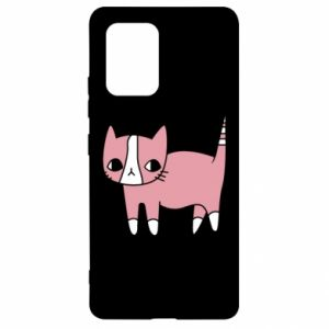 Etui na Samsung S10 Lite Cat with leaves