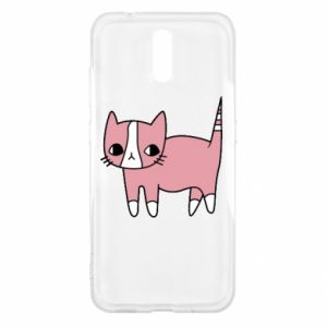 Etui na Nokia 2.3 Cat with leaves