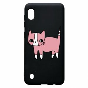 Etui na Samsung A10 Cat with leaves