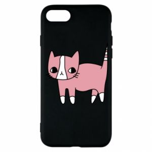Etui na iPhone SE 2020 Cat with leaves