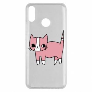 Etui na Huawei Y9 2019 Cat with leaves