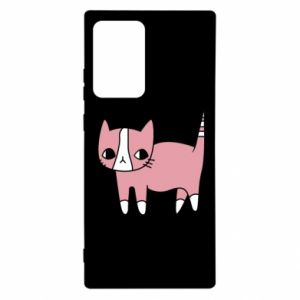 Etui na Samsung Note 20 Ultra Cat with leaves