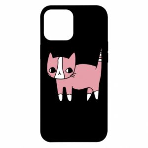 Etui na iPhone 12 Pro Max Cat with leaves
