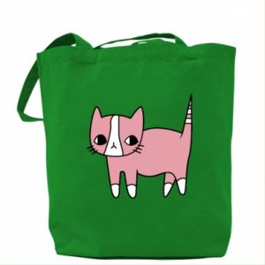 Bag Cat with leaves