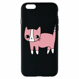 Phone case for iPhone 6/6S Cat with leaves