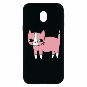 Phone case for Samsung J3 2017 Cat with leaves
