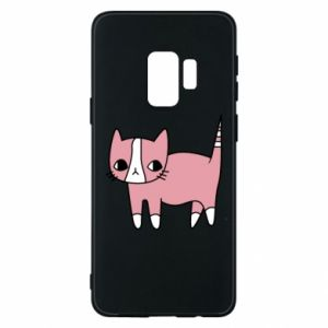 Phone case for Samsung S9 Cat with leaves