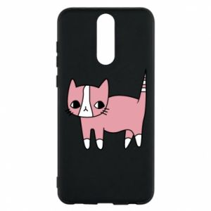 Phone case for Huawei Mate 10 Lite Cat with leaves