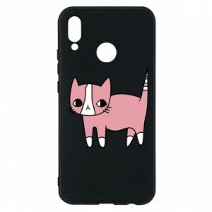 Phone case for Huawei P20 Lite Cat with leaves