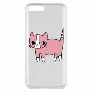 Phone case for Xiaomi Mi6 Cat with leaves